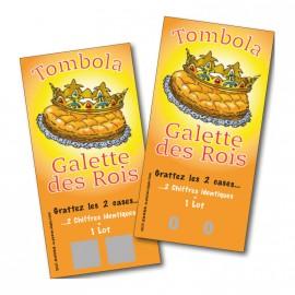 Tombola Galette des Rois 250 billets - 52 lots