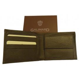 Porte-feuille cuir homme Galimard